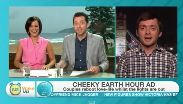 Gareth James on Breakfast TV Wake Up australia
