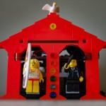 Lego weather house