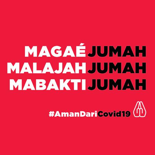 #AmanDariCovid19